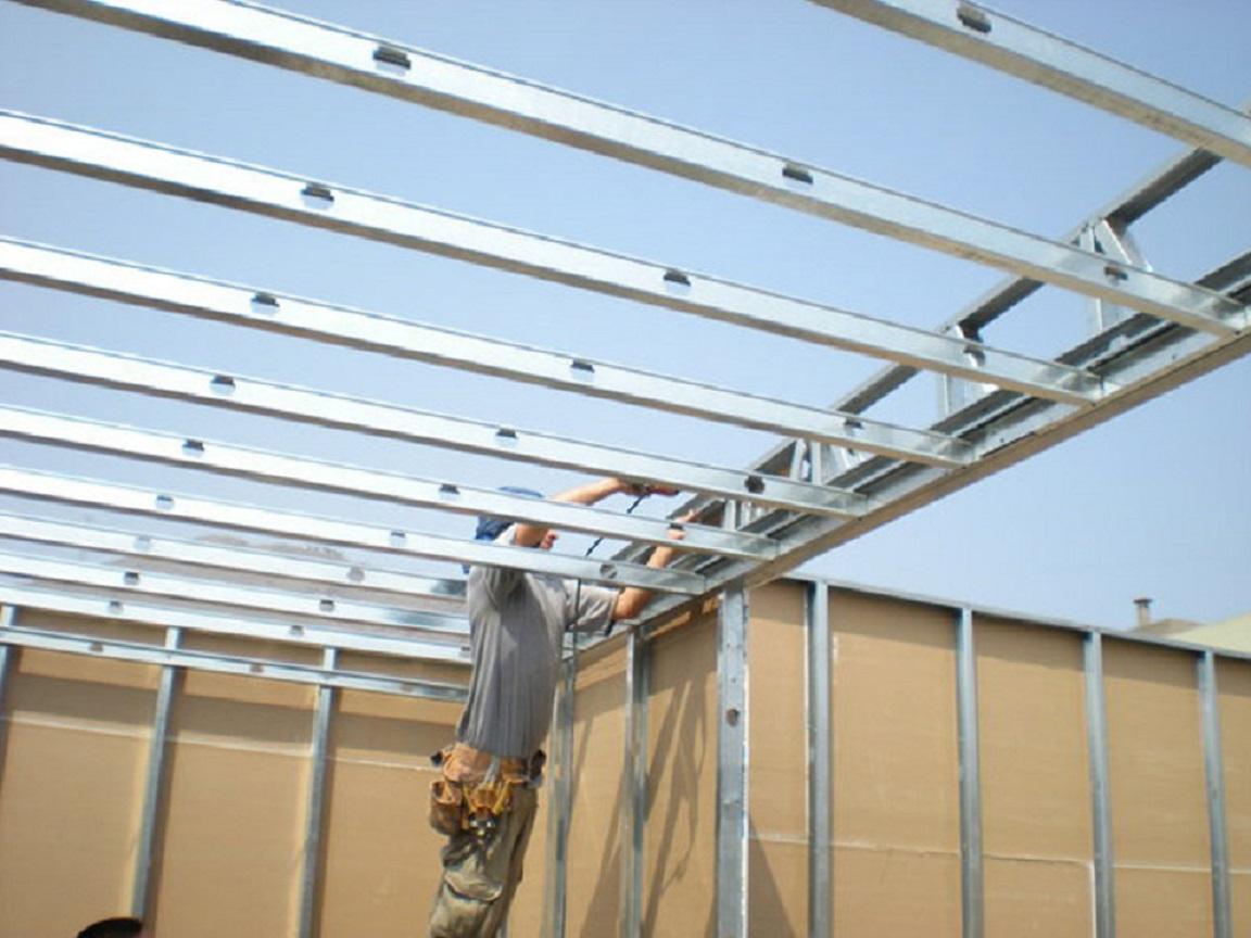 Estructuras En Drywall Jt Peru